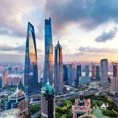 Shanghai Bund And Nanjing Road Shanghai Bund, Nanjing, Wall Street, New Wall, San Francisco Skyline, New York Skyline, Tours, World