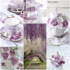 purple collage