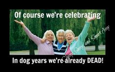 Old Folks, Dog Years, Aged To Perfection, Getting Old, Knowing You, Humor, Celebrities, Happy, Movie Posters