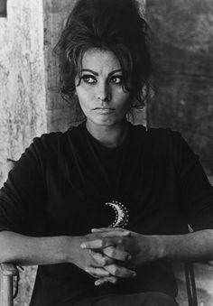 Sophia Loren, 1963: Crescent Moon @Coveteur