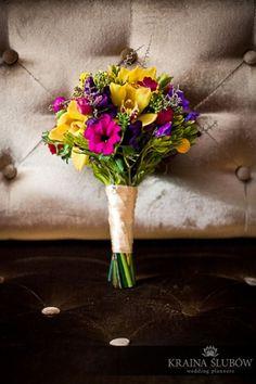 Bridal bouquet / Kraina Ślubów / fot. Ewa Brzozowska