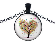 The heart tree resonates to me as the love that is in our hearts and the joy that people with tender hearts bring us.  This stunning setting offers a splash of colour and design.    These sets come in an environmentally friendly presentation box that your loved ones will appreciate. Daughters and Mothers will be delighted to receive this as a gift for her that shows how much you care.   Made with a high-quality image. We stand by the quality of our product 100%