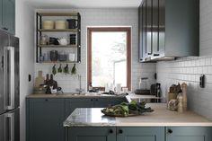 11 Beautiful Dark Kitchens
