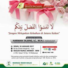 "Hadirilah…! Pengajian Rutin ""Qawa'id Qur'aniah Bagian 3"""