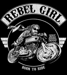 #rebelgirl #motorcycle #art #cafeacer #motoart #bikerchick #womenrider #motobabe #olskool #vintage
