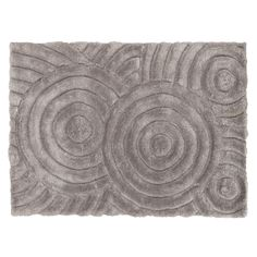 Linon Links Circles Shag Rug, Grey