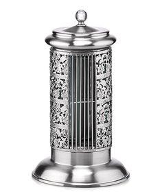 Look what I found on #zulily! Silver Bellevue Satin Chrome Tower Fan #zulilyfinds