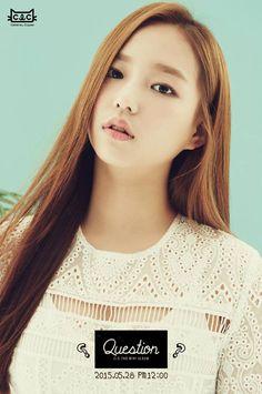 CLC 2nd mini album 'Question' - Jang Yeeun