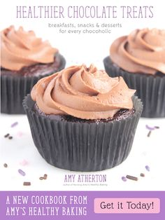 Healthier Chocolate Treats -- Cookbook by Amy's Healthy Baking