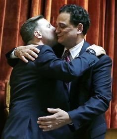 Rhode Island becomes 10th state to legalize gay marriage (Photo: Charles Krupa / AP)