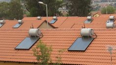 Tshwane,Danville Housing project, installed solar geyser.