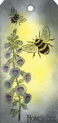 Chocolate Baroque Design Team: Honey Bees (by Veronica) Baroque Design, Bee Cards, Honey Bees, Paper Design, Veronica, Butterflies, Rooster, Stamps, Hobbies