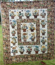 English basket quilt by DR