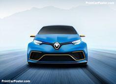 Renault Zoe e-Sport Concept 2017 poster, #poster, #mousepad, #tshirt, #printcarposter