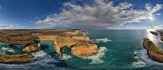 The Twelve Apostles, Australia - AirPano.com • 360° Aerial Panorama • 3D Virtual Tours Around the World