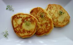 Mashed Potato Pancakes from AngelclingDreams Mashed Potato Pancakes, Mashed Potatoes, Best Ever Potato Salad, Classic Chili Recipe, Slow Cooker Sweet Potatoes, Potato Fritters, Healthy Recepies, Sweet Potato Chili, High Fiber Foods