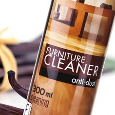 Furniture Cleaner Price:  £5.99 Code: F01 Capacity: 300ml This 300ml Furniture Cleaner designed for cleaning and daily treatment of furniture made of wood and wood-alike materials. It is a convenient spray enriched with wax and anti-electrostatic ingredients that leave a protective layer on the cleaned surface. To purchase this product visit http://www.membersfm.com/Michelle-Brandon