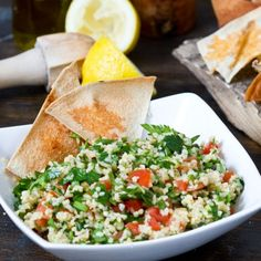 Link to the Tabouli Salad Recipe