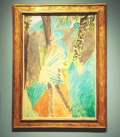 Another favourite from #ModernGarden @royalacademyarts last week Matisse 'Palm Leaf Tangier' 1912 overheard a lady commenting on how confident Matisse seemed to be with colours and couldn't agree more!  #matisse #palmleaf #royalacademy #london #plantlife #henrimatisse
