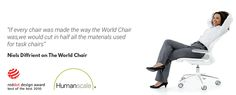 The Diffrient World Chair: Designed With Ergonomics In Mind