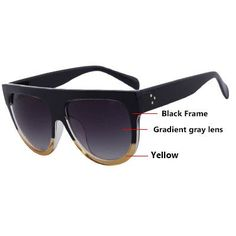 Eyewear Type: Sunglasses Style: Shield Lenses Optical Attribute: Gradient Frame Material: Plastic Lens Width: 63mm Lens Height: 52mm Lenses Material: Polycarbonate