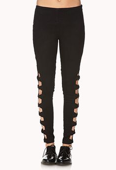 Bold Bow Skinny Jeans | FOREVER21 - 2000073939
