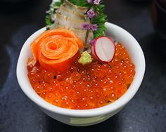Friday #Food Porn: Ikura Rice in Miyagi, Japan