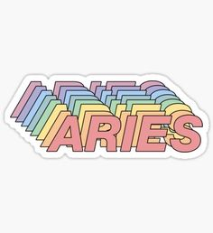Aries stickers featuring millions of original designs created by independent artists. Stickers Cool, Tumblr Stickers, Phone Stickers, Printable Stickers, Aries Wallpaper, Aesthetic Iphone Wallpaper, Arte Aries, Aries Aesthetic, Aesthetic Stickers