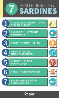 Health Benefits of Sardines http://www.draxe.com #health #holistic #natural