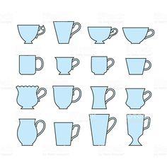 Image result for mug shapes
