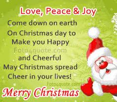 The 65 best Christmas Message images on Pinterest | Merry christmas ...