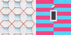 Colorful Symmetric Architecture – Fubiz Media