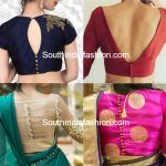 blouse back neck designs with buttons 150x150 blouse designs