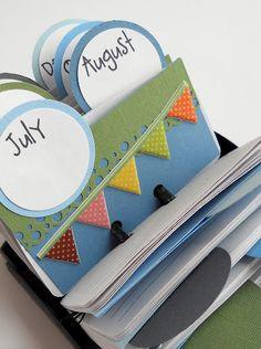 Roladex Birthday Calender - gift idea too.