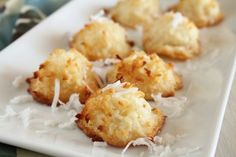 Inas Coconut Macaroons Recipe - Food.com: Food.com