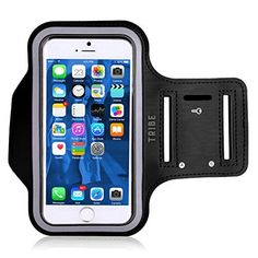 Adjustable Reflective Velcro Galaxy S7 Edge Water Resistant Cell Phone Case with Extension Strap Key Holder /& Card Slot Workout Phone Band by TaoTronics iPhone 7 8 Plus Armband for 6s 6 Plus