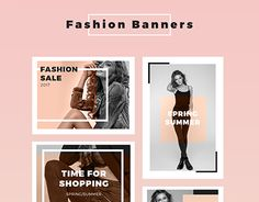 """Check out new work on my @Behance portfolio: """"Fashion Banners Collection"""" http://be.net/gallery/50400615/Fashion-Banners-Collection"""