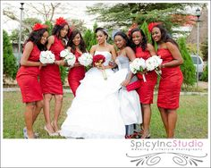 African Sweetheart: Weddings: Help! What Colour Should My Bridesmaids Wear?
