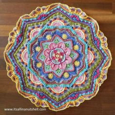 Video tutorial Mandala Madness week 8 | It's all in a nutshell! | Bloglovin'