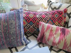 pillows.