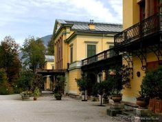 Bad Ischl,Imperial Villa Her World, If I Stay, Amelie, Facades, Places To Travel, Places Ive Been, My House, Feels, Villa