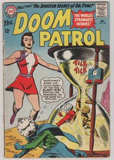 Doom Patrol V1 92. FN Dec 1964 DC Comics. by RubbersuitStudios #comicbooks #doompatrol
