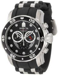 """No need to wait for this Invicta Men's 6977 """"Pro Diver Collection"""" Stainless Steel and Black Polyurethane Watch with free one day shipping **SEE MORE HERE http://www.amazon.com/l/3305591011/?_encoding=UTF8&camp=1789&creative=390957&linkCode=ur2&pf_rd_i=2441323011&pf_rd_m=ATVPDKIKX0DER&pf_rd_p=1705327222&pf_rd_r=1NNPS7Z7S3BFTKQS6A90&pf_rd_s=center-4&pf_rd_t=101&rh=n%3A3305591011%2Cp_6%3AATVPDKIKX0DER&tag=slappins-20"""
