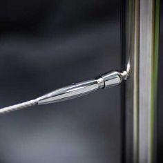 accesorio para cable en acero inoxidable