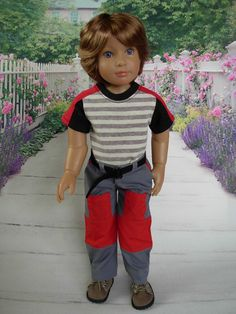 Cargo Set fits Kids n Cats and slim 18 inch dolls by WeeWhimzyWardrobe on Etsy https://www.etsy.com/listing/232105326/cargo-set-fits-kids-n-cats-and-slim-18