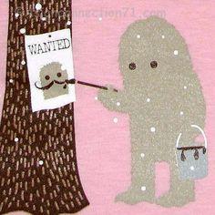 Wanted Bigfoot poster