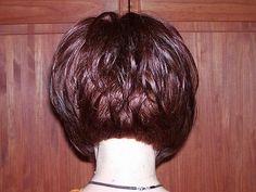 Image result for back of haircut on chin length bob