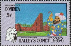 Dominica 1986 Halleys Comet SG 993 Fine Mint SG 993 Scott 945 Other Commonwealth Stamps here