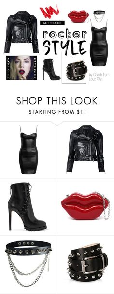 """Rocker Style"" by mario1977lodz ❤ liked on Polyvore featuring R13, Alaïa, Barbara Bui, rockerchic and rockerstyle"