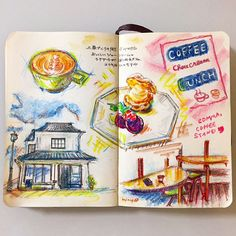 https://flic.kr/p/yPm7J3 | COMMA,COFFEE STAND #moleskine